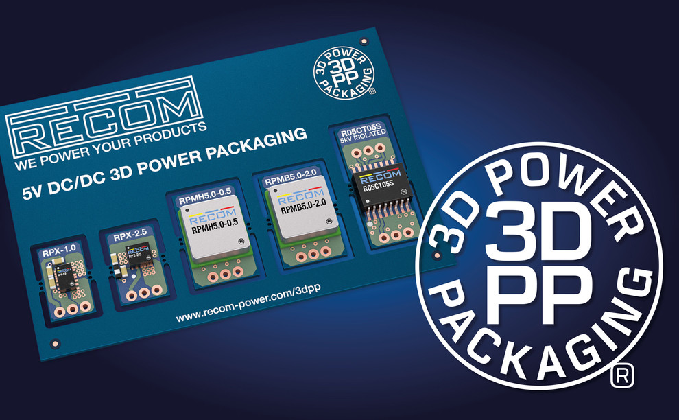 RECOM 3D Power Packaging Competence