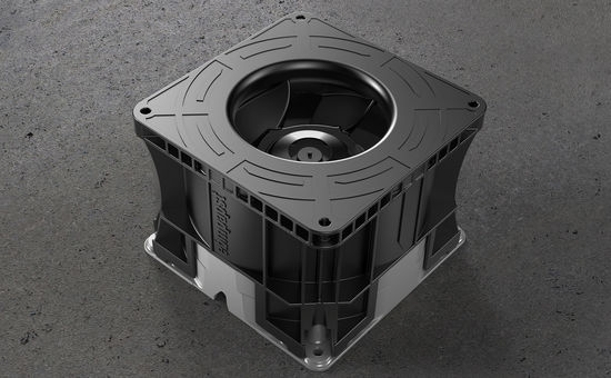 The new DiaForce diagonal compact fans.