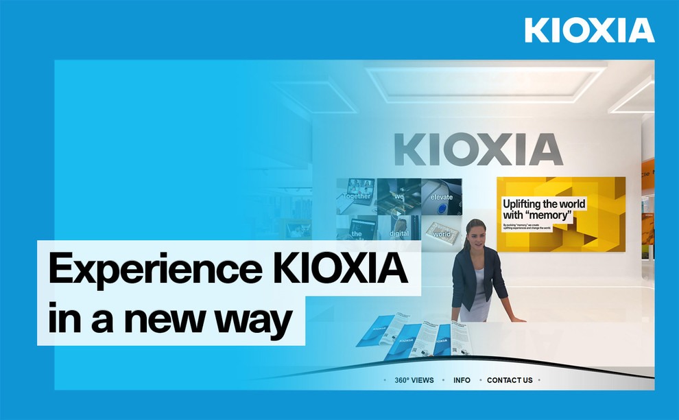 Experience KIOXIA in a new virtual way
