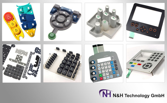 Silicone Rubber Keypads & Membrane Switch