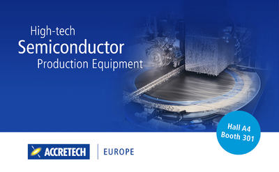 Exhibitor novelties ACCRETECH (Europe) GmbH