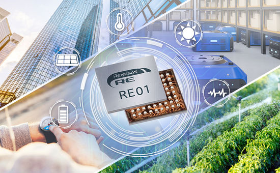 World-Class Energy Efficient RE MCUs