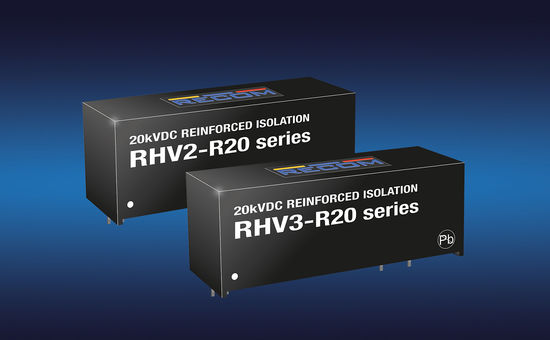 Isolated DC/DC Converters from 0,25-240W
