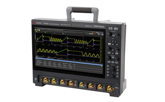 Keysight's New EXR Oscilloscope Series