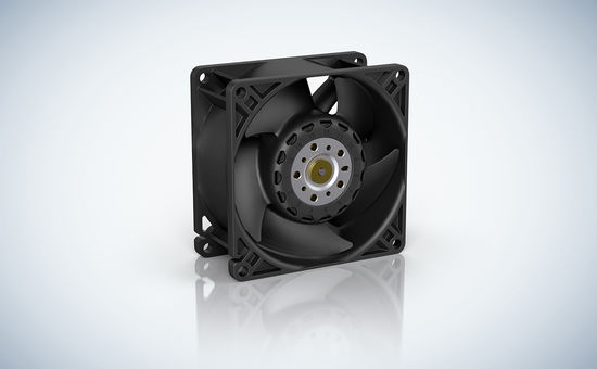 The new tubeaxial fan series AxiForce.
