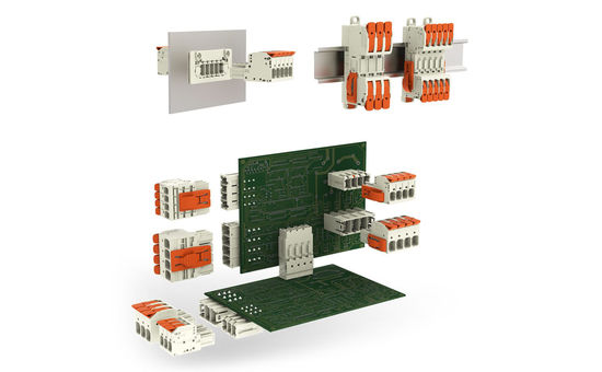 Locking systems and mounting adapters for PCB MCS