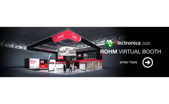 Visit ROHM Virtual Booth