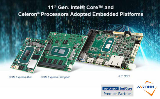 Advantech Embedded Platforms @Aaronn Electronic