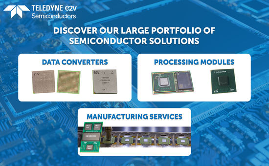 Large portfolio of hi-rel semiconductor solutions