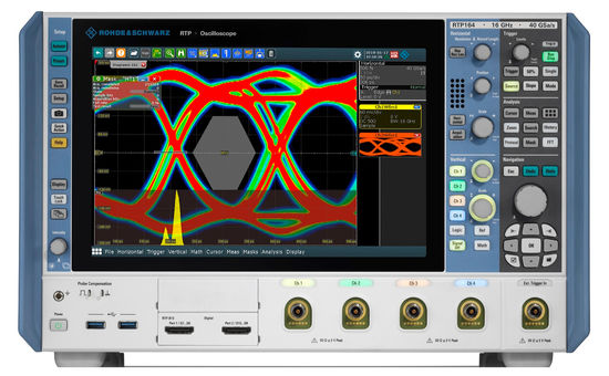 R&S RTP oscilloscope