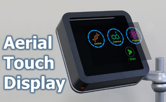 Aerial Touch Display – Touchless Display Interface