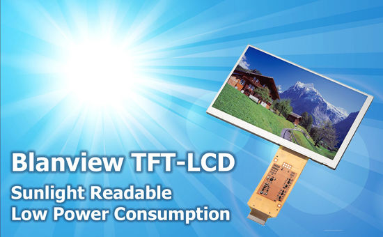 Blanview – Outdoor Readable & Low Power TFT-LCD
