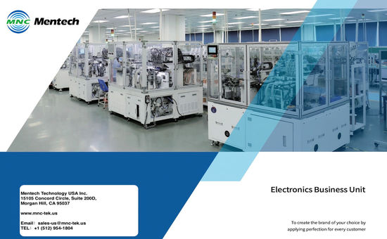 Mentech Electronics Business Unit Brochure
