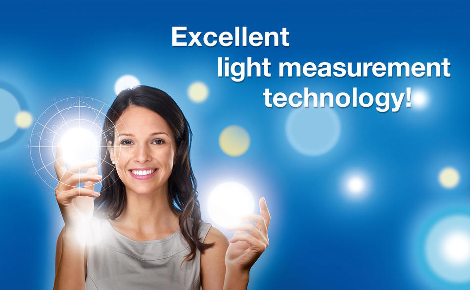 Excellent light measurement technology!