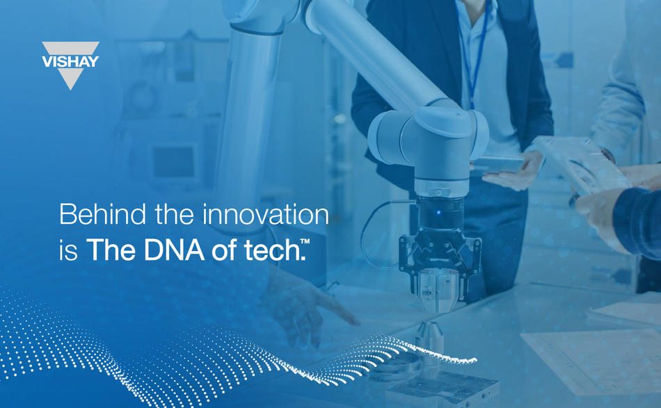 Vishay is The DNA of tech.™