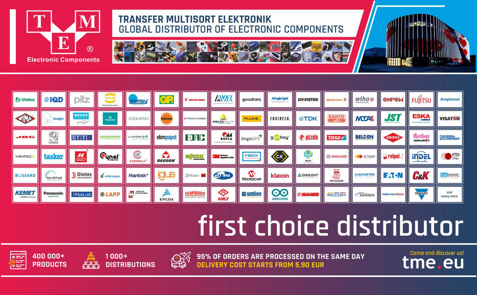 TME - first choice distributor